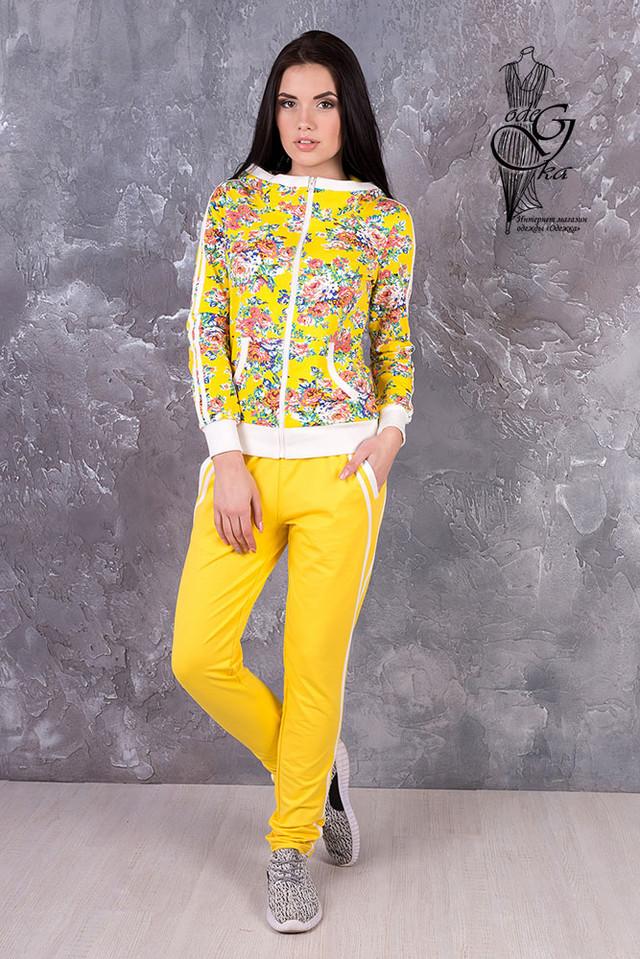 Пододные товары-2 Женского спортивного костюма с цветочным принтом Джессика