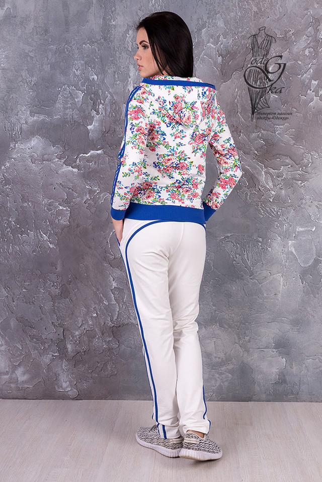 Фото-2 Женского спортивного костюма с цветочным принтом Джессика