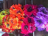 Искусственный букет, Полевые цветы, разные цвета в упаковке