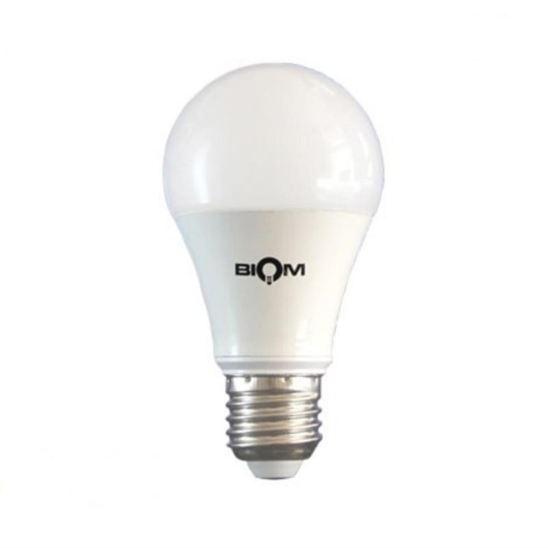Cветодиодная лампа Biom BВ 12Вт A60 E27 3000К теплый белый