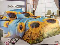 Полуторный набор постельного белья Ранфорс 129