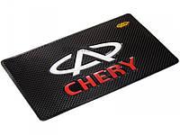 Автомобильный коврик липучка Chery (185x120)