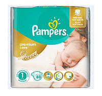 Подгузники Pampers Premium Care NewBorn 2-5 кг 88 шт