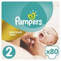 Подгузники Pampers Premium Care Mini 3-6 кг 80 шт