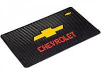 Автомобильный коврик липучка Chevrolet (185x120)