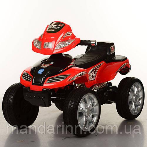 Детский квадроцикл Energy M 0417 E-3 красный. Колеса EVA.