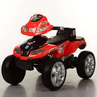 Дитячий квадроцикл Energy M 0417 E-3 червоний. Колеса EVA.