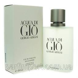 Giorgio Armani Aqua Di Gio Pour Homme EDT 100 ml туалетная вода мужская (оригинал подлинник  Италия)
