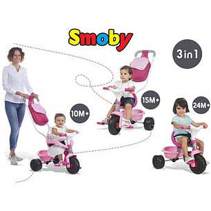 Трехколесный велосипед Smoby Be Move Pop Girls  740403, фото 2