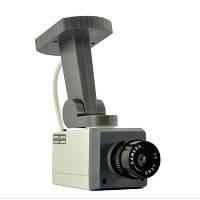 Муляж камеры видеонаблюдения CAMERA DUMMY XL018, видеонаблюдение муляж, уличная камера муляж, фото 1