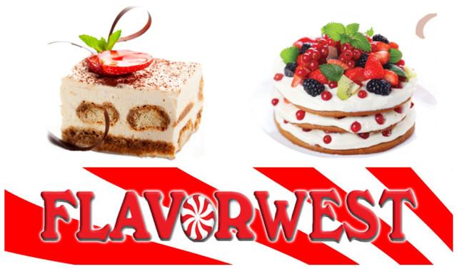 Кондитерські та десертні ароматизатори Flavor West