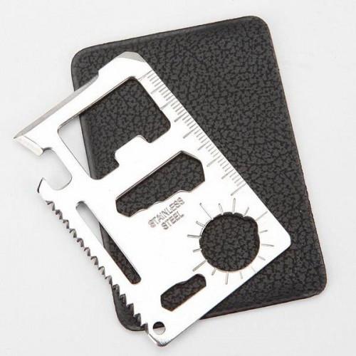 Нож визитка / кредитка - мультитул для выживания.