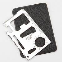 Нож визитка / кредитка - мультитул для выживания., фото 1