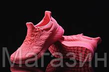 Женские кроссовки Adidas Ultra Boost FutureCraft 3D Pink Адидас Ультра Буст розовые, фото 3
