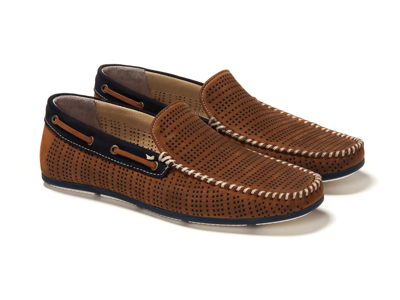 Мокасины Etor 11341-6534-9999 коричневые