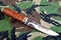 Нож охотничий Скиф-2 рукоять дерево  +кожаный чехол