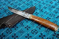 Эксклюзивный охотничий нож Скиннер, ручная работа, кожаный чехол в комплекте
