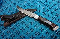 Нож охотничий Лось (Ручная работа), кожаный чехол в комплекте