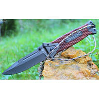 Складной нож Browning 218 мм, клинок из нержавеющей стали,57 HRC ,рукоять G-10