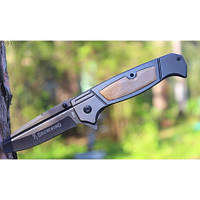 Складной нож Browning 227 мм, клинок из нержавеющей стали,57 HRC