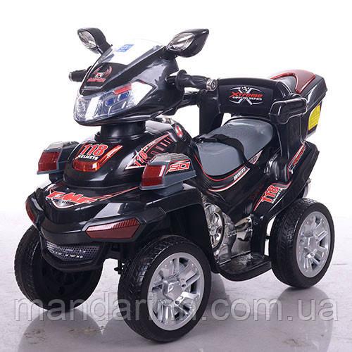 Детский квадроцикл BAMBI M 0633EBR-2 красно-черный. Колеса EVA.