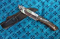 Нож охотничий бизон ля активного отдыха и путешествий
