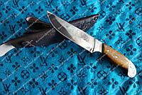Нож охотничий с гравировкой рыбак-2 ,Константиновка