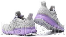 Женские кроссовкиAdidas Ultra Boost FutureCraft 3D Grey Purple Адидас Ультра Буст серые, фото 2
