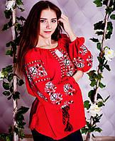 Вишиванка Бохо троянда (шифон), фото 1