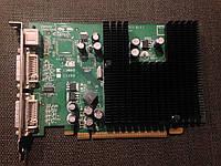 ВИДЕОКАРТА Pci-E Nvdia GeForce 7300 LE на 128 MB с ГАРАНТИЕЙ ( видеоадаптер 7300LE 128mb  )