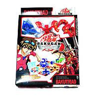 Набор из 3-х ловушек бакуганов Bakutriad Super Evolution в чемодане. 3 карты способностей + 3 карты ворот-порт