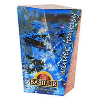 Чай черный Basilur коллекция Зимняя фантазия Зимние снежинки 85г