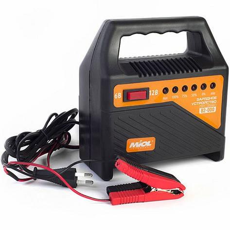 Автомобильное зарядное устройство для АКБ 6/12В 60Ач MIOL 82-000, фото 2