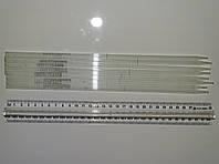 Пипетка мерная Мора 2 мл, без расширения, ГОСТ 1770-64, Митос, Киев, серо-зеленоватая шкала