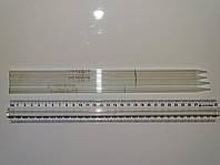 Пипетка мерная Мора 2 мл, без расширения, ГОСТ 1770-64, красная шкала, Полтава, логотип ромб