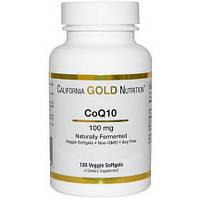 Коэнзим Q10, полученный с использованием процесса натурального брожения, 100 мг, 120 овощных капсул