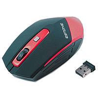 Радио мышь игровая ESTONE E-2350 USB коннектор красная для онлайн игр ноутбука компьютера планшета клавиатура