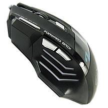 Мышь компьютерная ESTONE X7 USB Черная 2400 dpi LED подсветка для ноутбука компьютера windows планшета таблета, фото 3