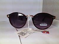 Солнцезащитные очки черные скрасно-черной оправой