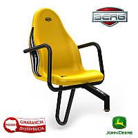 Пассажирское сиденье John Deere желтое  до 30 кг  BERG 50738_KFB