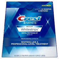 Отбеливающие полоски Crest 3D White Whitestrips Professional Effects