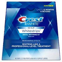 Отбеливающие полоски Crest 3D White Whitestrips Professional Effects
