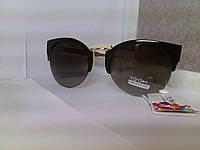 Солнцезащитные очки, цвет линз коричневый