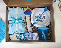 Подарочный набор для мальчика 6 месяцев MiniMe, фото 1