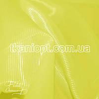 Ткань Подкладочная ткань диагональ 210Т (лимонно-желтый)