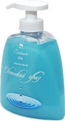 Жидкое натуральное мыло линии SPA, океанский бриз Арго для рук, лица, тела, питает, очищает, смягчает
