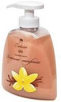 Жидкое натуральное мыло линии SPA, ванильное настроение  Арго (экстракты молоко, ваниль, лен, хлопок, камелия)