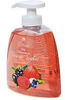 Жидкое натуральное мыло линии SPA, ягодное суфле Арго (экстракт йогурта, земляники, черники, клюквы, брусники)