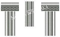Заготовка для вишивки жіночої сорочки бісером/нитками на білій тканині НАТУРАЛЬНІЙ