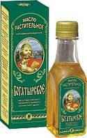 Масло салатное «Богатырское» Арго (горчичное, льняное, подсолнечное, кунжутное масло, кальций, железо, фосфор)
